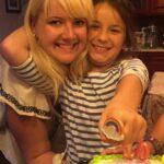 Julia mit Gastkind Ella